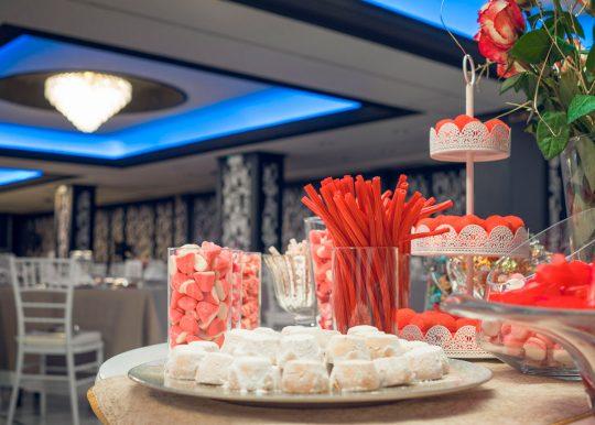 Candy Bar Fiesta Hotel Ercilla