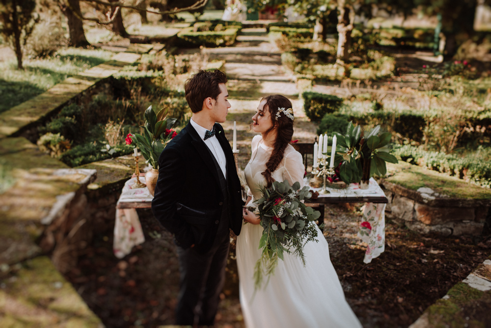 Reportaje de boda en el Palacio San Miguel