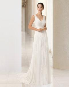 vestido-novia-clásico-Rosa-Clará