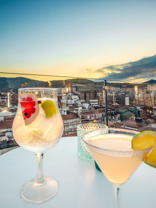 Terraza Le Club Hotel Ercilla Bilbao