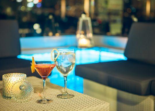 Cóctel Terraza Le Club Hotel Ercilla