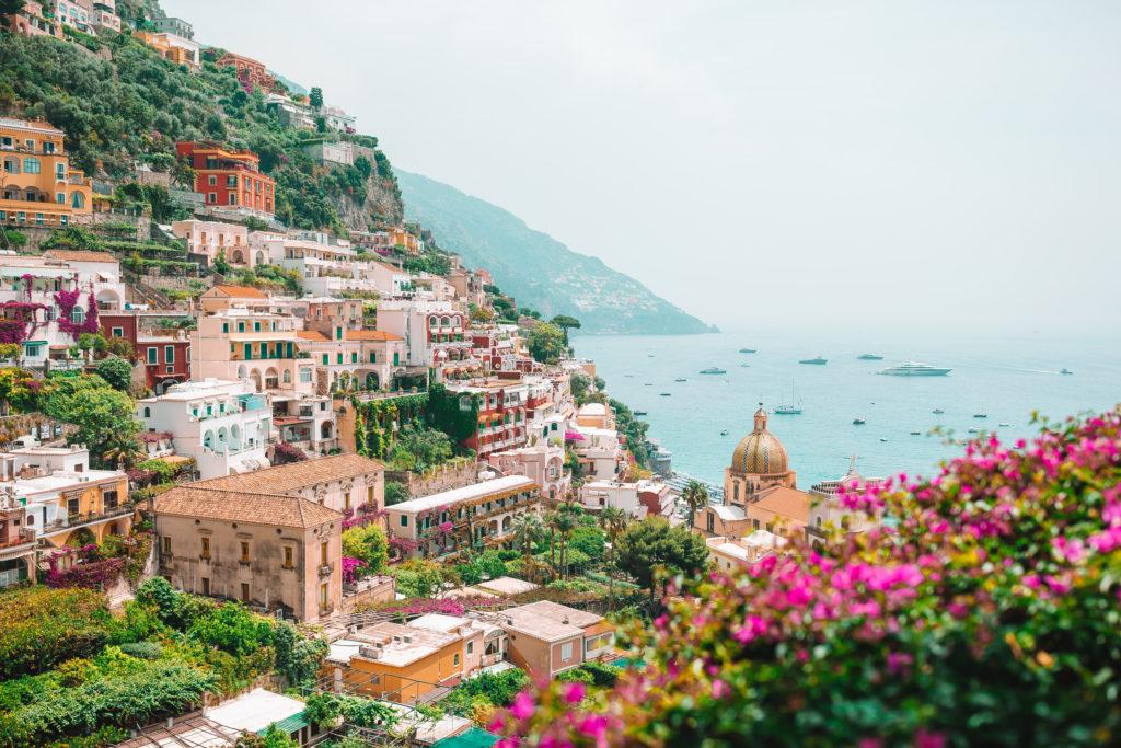 Costa amalfitana italia luna de miel